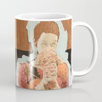 study Mugs featuring Study by Suzanna Schlemm