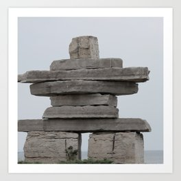 Inukshuk Fine Art Photography Art Print