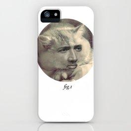 """fig.1"" grey iPhone Case"