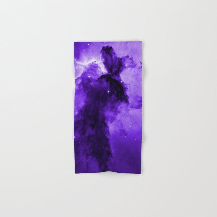 Eagle Nebula Ultraviolet Hand & Bath Towel