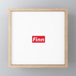 Finn Framed Mini Art Print