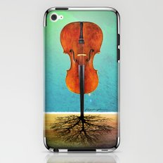 Rooted sound. iPhone & iPod Skin