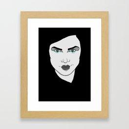 Power Framed Art Print