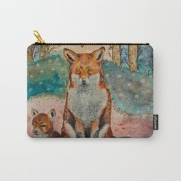 Daydreaming Fox Carry-All Pouch