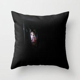 Creepsters 4 Throw Pillow