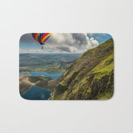 Snowdon Hot Air Balloon Bath Mat