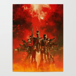 In The Heat Of Battle Poster