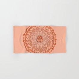 d20 Mandala Hand & Bath Towel