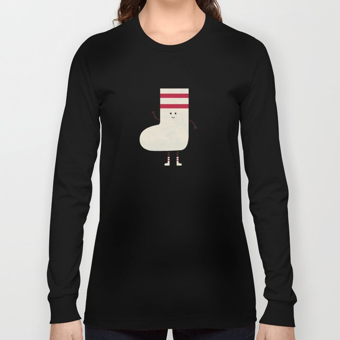 A Sock With Socks Long Sleeve T-shirt