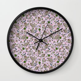Cute Quokkas Wall Clock