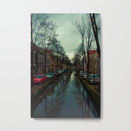 Delft blue Metal Print