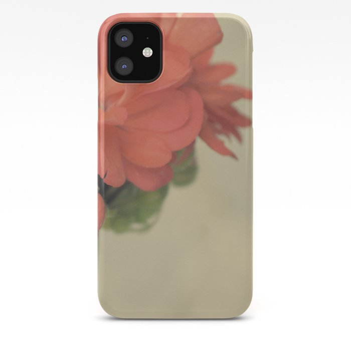 Zonal Pelargonium Flower iPhone Case