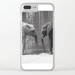 Weight of Love Clear iPhone Case