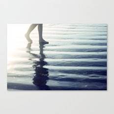 Comes and Goes in Waves Canvas Print