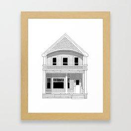 Vancouver Heritage Framed Art Print
