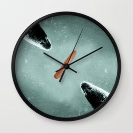 Hungry Hippos Wall Clock