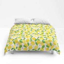 california lemons Comforters