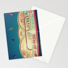 CandyLand ~ vintage-feel carnival Stationery Cards