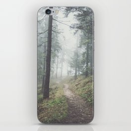 Into the unknown - Landscape and Nature Photography iPhone Skin