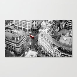 Red Bus of London Canvas Print