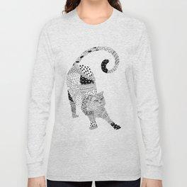 Happy kitty Long Sleeve T-shirt