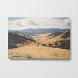 The Montana Collection - Wide Open Spaces Metal Print