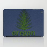 oregon iPad Cases featuring Oregon by Julie