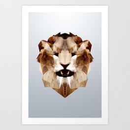 Lion - Augmented Art Print
