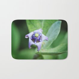 Botanical Art Print - Star of The Garden - By Sharon Cummings Bath Mat