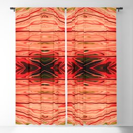 Strawberry Firethorn Quad IV by Chris Sparks Blackout Curtain