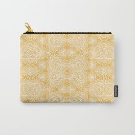 Imperfection: Three (Golden Triangles) Carry-All Pouch