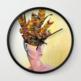Featherhead Wall Clock