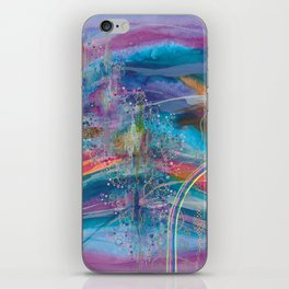 dreaming in color iPhone Skin