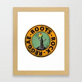 Roots - Rock - Reggae. Framed Art Print