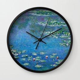 Claude Monet - Water Lilies Wall Clock
