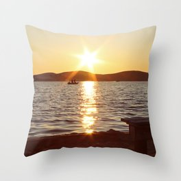Photo of Silver Lake Throw Pillow