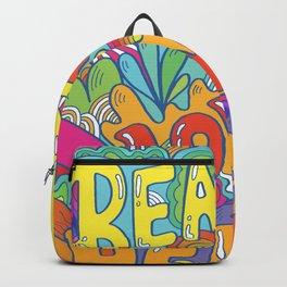 beauty, love, peace Backpack