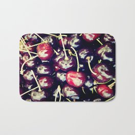 sweet cherries Bath Mat