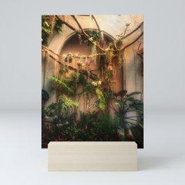 Orchids and moss Mini Art Print