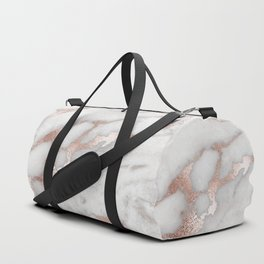 Rose Gold Marble Duffle Bag