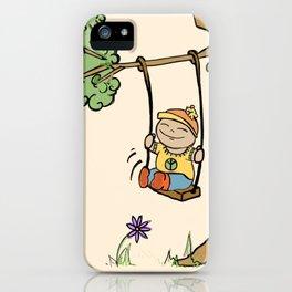 Swing. iPhone Case