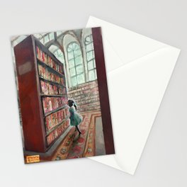 Exploring the Library Stationery Cards