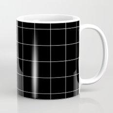 Black Grid /// www.pencilmeinstationery.com Mug