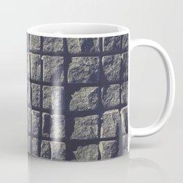 Blue Granite Wall Sawn Squares Coffee Mug