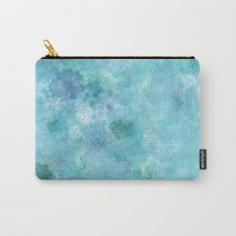 Blue Galaxy Carry-All Pouch