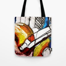 Red Still Life Tote Bag