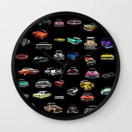Car Cluster Wall Clock