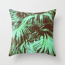 Trees of Paradice Throw Pillow