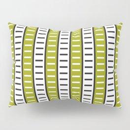 Stripes Pattern 203 (green stripes) Pillow Sham