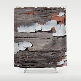 Peeling Paint 01 Shower Curtain